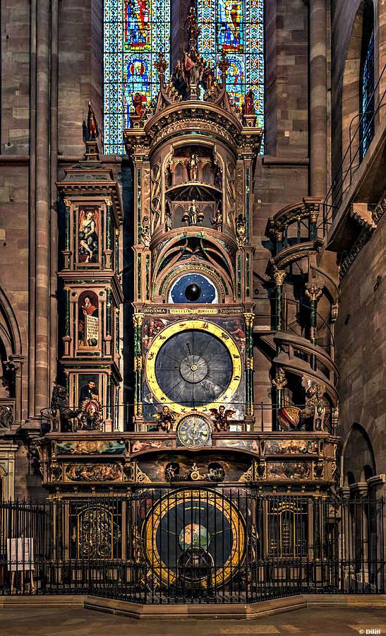 Horloge Cathédrale Strasbourg